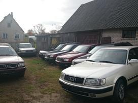 Audi 100. Automobilis pargabentas is