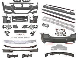 BMW 3 serija. m-performance  style  difuzoriai,  priekiniai ,