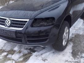 Volkswagen Touareg.  europa