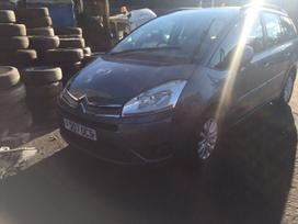 Citroen Grand C4 Picasso dalimis. Is anglijos