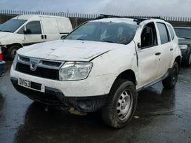 Dacia Duster dalimis. W platus