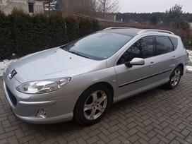 Peugeot 407, 2.0 l., universalas
