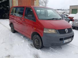 Volkswagen Transporter. Dalis pristatome i
