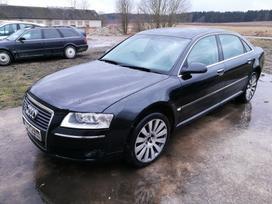 Audi A8. Turimas šio automobilio detalių kainas ir nuotraukas,