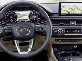 Audi A4. Led žibintų,multimedijų perdarymas