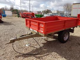 Bicchi Brt125 (2,5 t), traktorinės priekabos