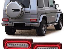 Mercedes-benz G klasė. galiniai light bar