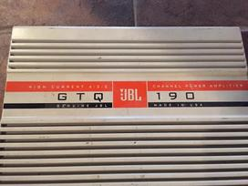 Jbl Gtq-190 Gts-180, Pioneer, Infinity, garso
