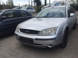 Ford Mondeo dalimis. Ford mondeo 2,0 tdci 96kw