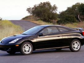 Toyota Celica dalimis. Ka tik pradetas ardyti