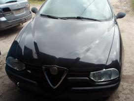 Alfa Romeo 156. Dalimis alfa romeo 1998-2002m