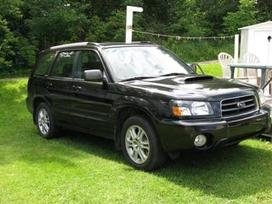 Subaru Forester. Daug detaliu likusiu.