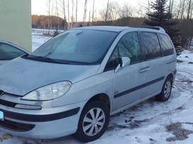 Peugeot 807, 2.0 l., vienatūris