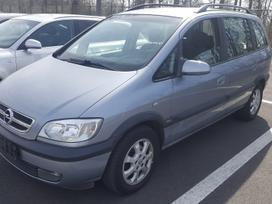 Opel Zafira, 1.8 l., vienatūris