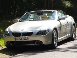 BMW 645, 4.5 l., kabrioletas