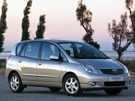 Toyota Corolla Verso. Naudotu ir nauju