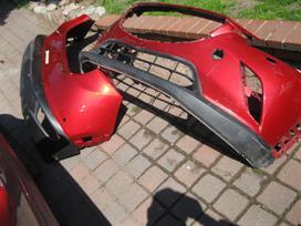 Mazda Cx-3. Buferiai