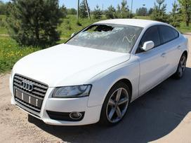 Audi A5 Sportback dalimis. Caha