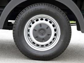 Mercedes-benz Sprinter, plieniniai štampuoti, R16