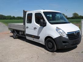 Opel Movano, dviguba kabina