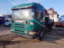 Scania 94g, savivarčiai su kranu