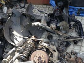 Opel Astra. Važioklės dalys, durelės.