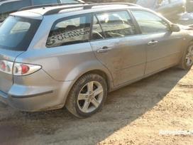 Mazda 6. Europa!!! automobilis dar neisardytas! taikome detalem