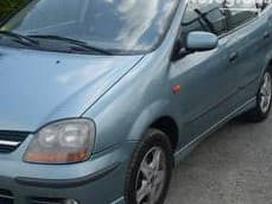 Nissan Almera Tino. Automobilis dar neisardytas! taikome detalem