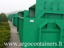 -Kita- Uztraukiami konteineriai HookLift / Multilift, atliekų (šiukšlių) konteineriai