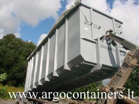 -Kita- Uztraukiami konteineriai HookL, atliekų (šiukšlių) konteineriai