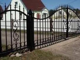 Metalo gaminiai, tvoros, vartai, durys,