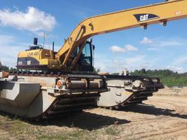 Caterpillar 322C, statybos transporto nuoma
