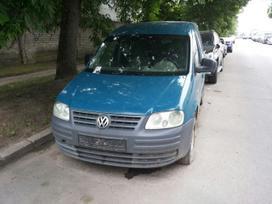 Volkswagen Caddy. Galimas detalių