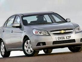Chevrolet Epica. Naudotos autodetales.