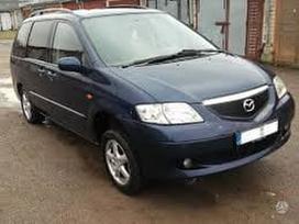 Mazda Mpv. Automobilis dar neisardytas!