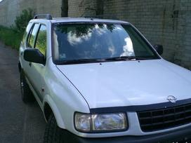 Opel Frontera. Automobilis dar neisardytas!