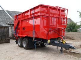 Ugb Puspriekabė 10 tonų, traktorinės priekabos