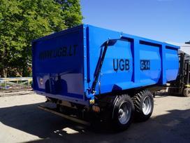 Ugb Puspriekabė 14 tonų, traktorinės priekabos