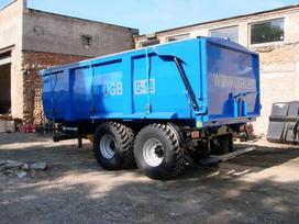 Ugb Puspriekabė 18 tonų, traktorinės priekabos