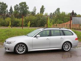 """BMW 5 serija dalimis. E61 535d """"m"""" 2006m dalimis, platus naudotų"""