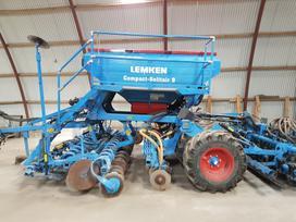 Lemken Compact Solitair 9, sėjamosios /