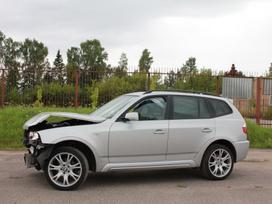 """BMW X3 dalimis. E83lci 2.0d """"m"""" 2008m dalimis, platus naudotų"""