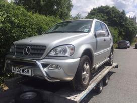 Mercedes-benz Ml270. Dalim yra visos dalys 3