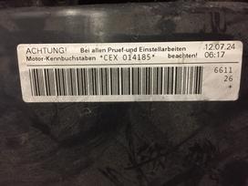 Audi A8. Pilnas variklis nera kuro siurblio