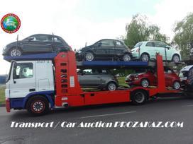 Automobilių gabenimas iš Lietuvos į Europą