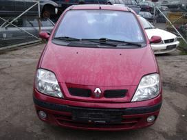 Renault Scenic. Dalimis