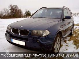 BMW X3, 3.0 l., suv / off-road