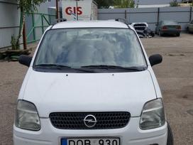 Opel Agila dalimis. Ka tik gautas automobilis