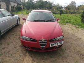 Alfa Romeo 156. Odinis salonas r17