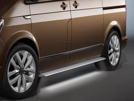 Volkswagen Multivan. Aliuminiai led